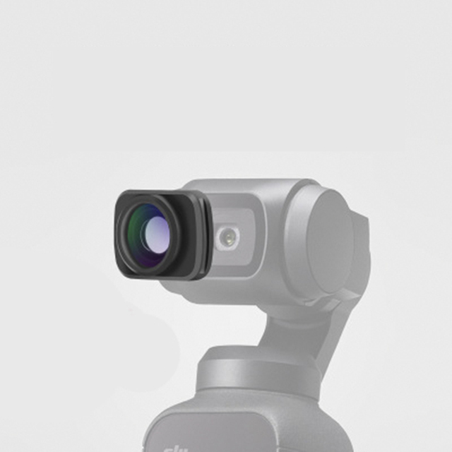 New For DJI OSMO Pocket Cardan Handheld Camera Gimbal Accessories For DJI OSMO Magnetic Mini Pocket Wide-Angle Camera Lens