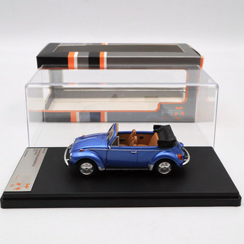 Premium X 1:43 SUPER BEETLE 1973 CONVERTIBLE METALLIC BLUE PRD531 Diecast Models Car Limited Edition Collection