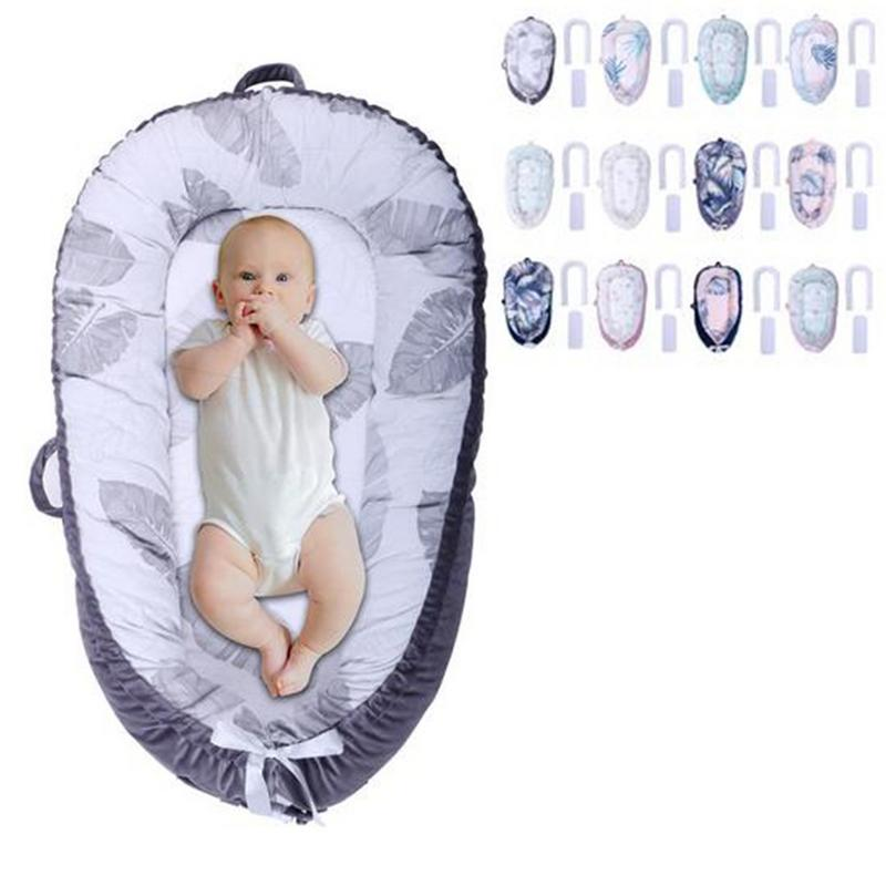 Lit de bébé à Double usage pour lit de bébé Portable lit de voyage amovible et lavable pour berceau en coton pour enfants