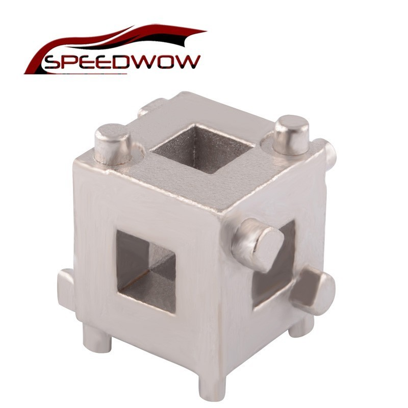 SPEEDWOW Car Auto Rear Disc Brake Piston Retractor Tool  3/8 inch Wind Back Cube Calliper Adaptor Tools|Master Cylinders & Parts| |  - title=