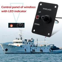Control Panel for Marine Boat 12V 15A Anchor Windlass UP/DOWN Toggle Switch