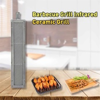 bbq barbecue BBQ infrared ceramic grill stainless steel ceramic gas burner stove aluminum plate ceramic sheet energy saving