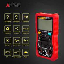 ANENG V01B True RMS Auto-ranging Digital Multimeter 4000 Zählt AC/DC Spannung Strom Widerstand Widerstand Frequenz NVC test(China)