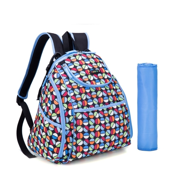 MKF Collection Amazing Mom Colorland Doriam Backpack