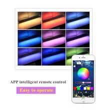 Zhongji RGB 5050 Led Light For Aquarium LED Lighting Bracket Extendable Leds Lamp Fish Tank 50/60/70CM