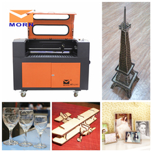 CNC CO2 laser engraving and cutter machine wood laser cutting machine 5070 CO2  laser usb laser cnc router for non-metal