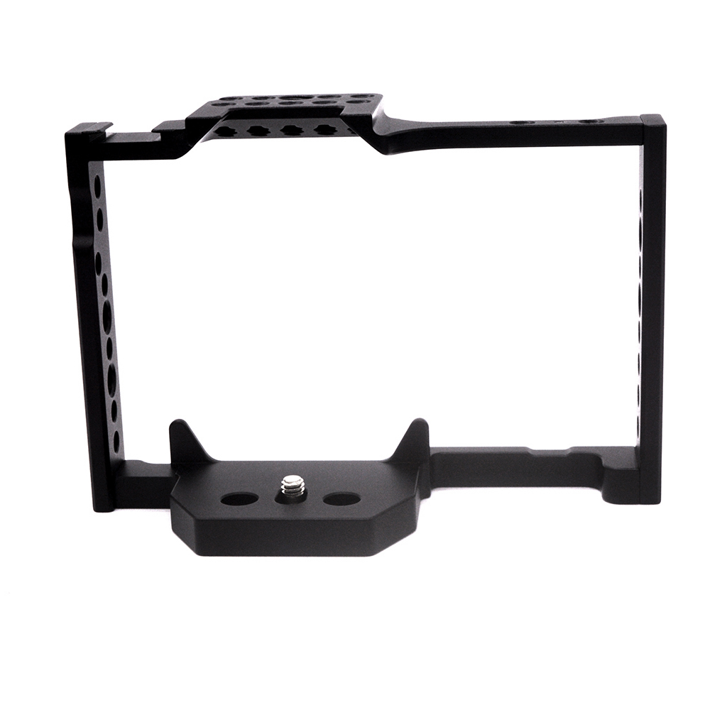 Gh5 <font><b>Gh5S</b></font> Camera Cage With Cold Shoe Nato Rail Compatible With Panasonic <font><b>Gh5S</b></font> Gh5 image