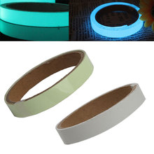 цена на 1M 15mm Luminous Tape Night Vision Glow In Dark Self-adhesive Warning Tape Safety Security Sticker Home Decoration