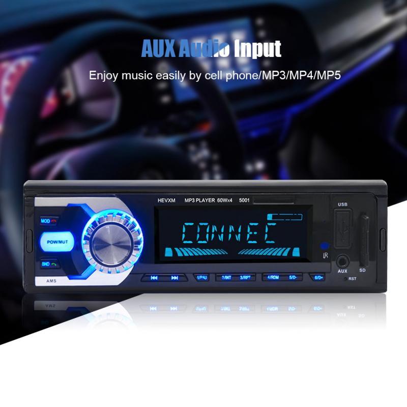 Unterhaltungselektronik Hifi-geräte Neue Mode Hifi Auto Bluetooth Aux Audio Eingang Sd Mm Karte Mp3 Player Mit Fernbedienung Aux Audio