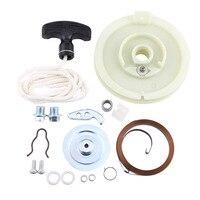 ATV Recoil Pull Starter Start Repair Rebuild Kit For Polaris Sportsman 500 1996 2011 3084822 3083463 3083378 3083379 3084744 New