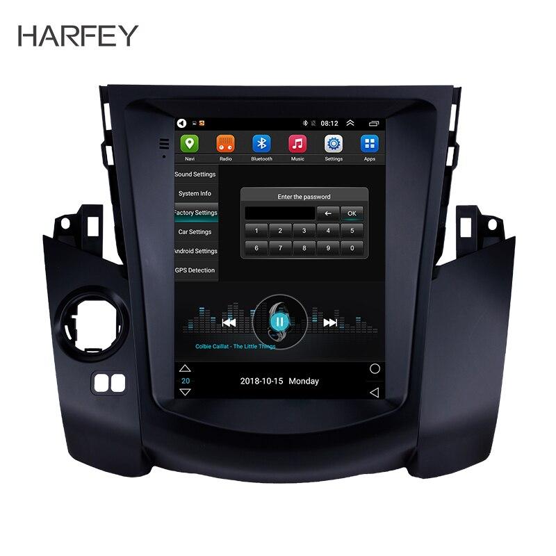 Harfey Car GPS Navi 4G LTE Android 6.0 Radio Unit 9.7support Digital TV 1080P Backup Camera for 2008 2009 2010 2011 Toyota RAV4
