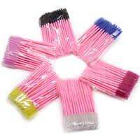1/50Pcs Make Up Brushes Eyelash Brush Disposable Mascara Wands Applicator Eye lashes Cosmetic Brushes maquillaje For Makeup Tool