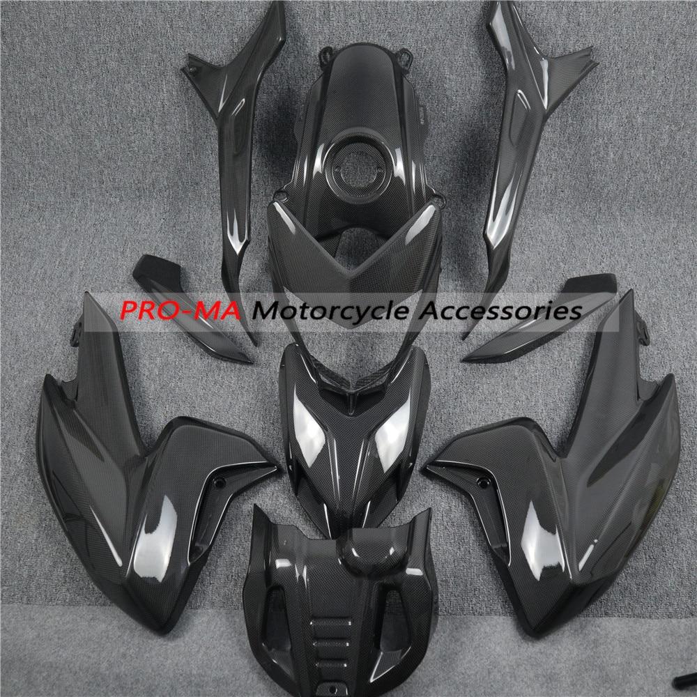ducati hypermotard hyperstrada 939 821 decals sticker sp kit wrap carbon fiber 1