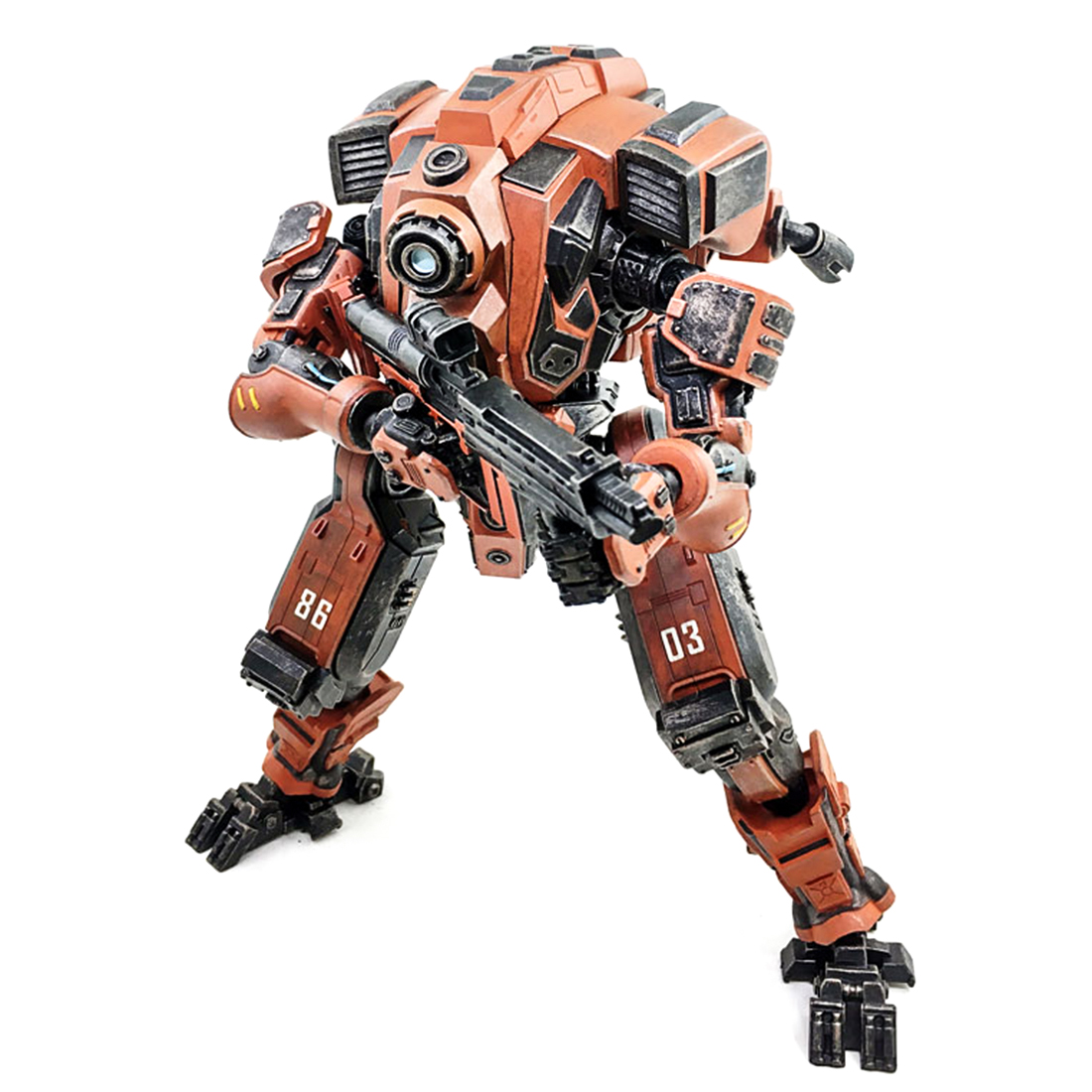 Mecha Model Xing Tian DIY 3D Assembly Fine Soldier Model with High Degree of Reduction for Home Decor Boys Birthday Gift 2019