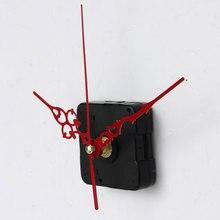 Абсолютно новые и высококачественные настенные кварцевые часы с механическим ходом запасные части с красными руками
