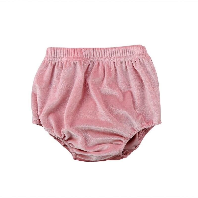 Newborn Baby Boy Girl Kids Velvet Bloomer   Shorts   Bottoms Panties Diaper Cover Panties PP Pant 0-3T Hot