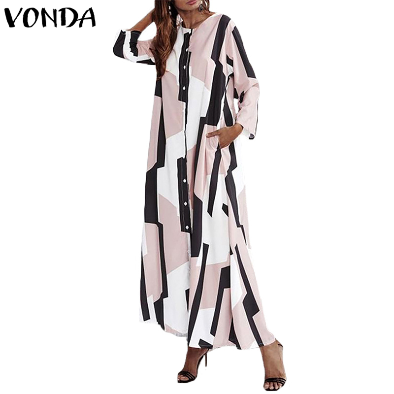 c0eb130fd21ec Batwing Sleeve Cloak Dress Women's Pile Collar Sundress 2019 ZANZEA ...