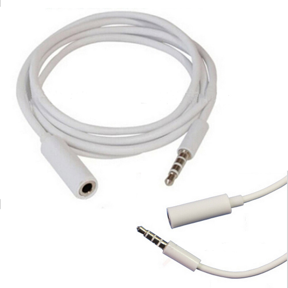 New 3.5 Audio Extension Cable 3.5mm Audio Line Male To Female Computer Support Headphone Line Extension Cable