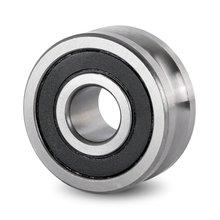 LFR50/5 LFR50/5-6 U паз Угловой контакт трек роликовый подшипник 5x17x8 мм