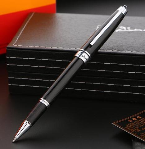 picasso 912 luxo rolo bola caneta esferografica de metal de alta qualidade escritorio e escola