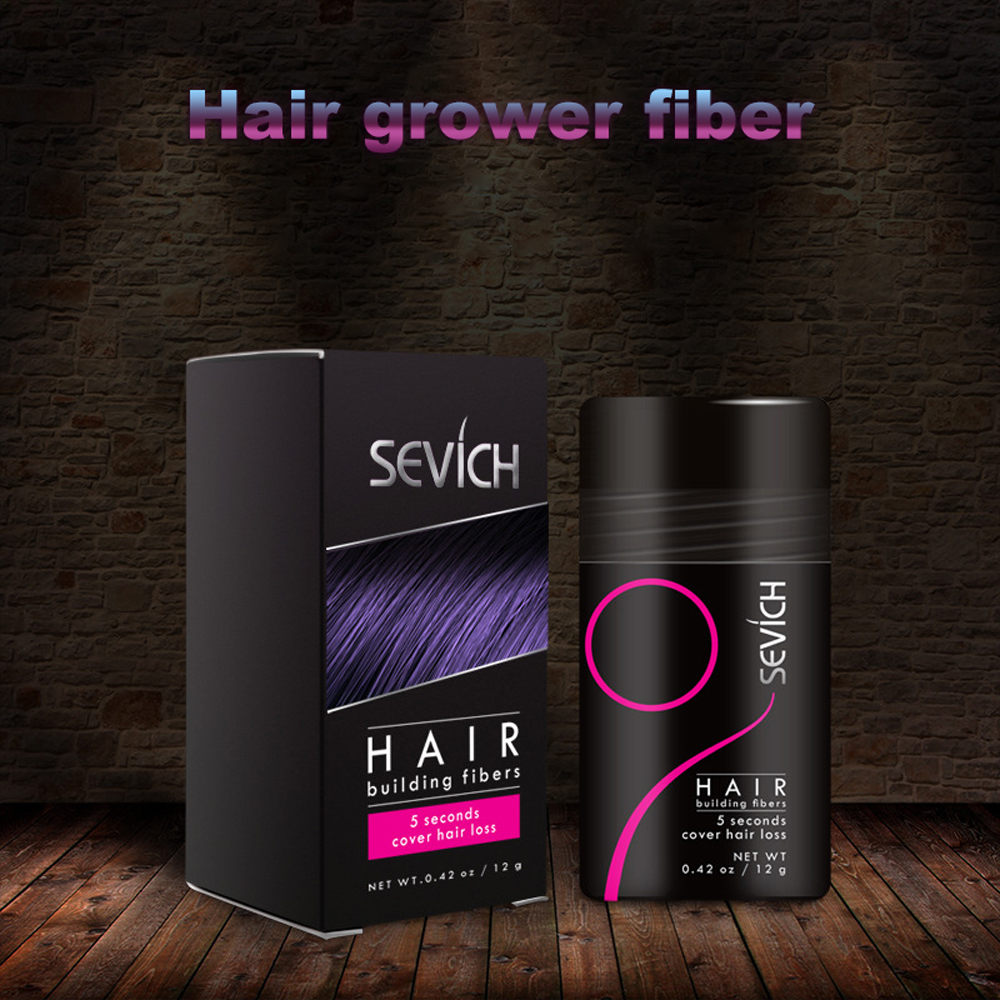 SEVICH Hair growth plant fiber Keratin Hairs Building Fibers Hair Thickening Growth Powder