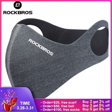 b25b6ba640c ROCKBROS Anti-dust Cycling Face Mask Cover For Running Bike Bicycle  Breathable PM 2.5 Protection Mouth-Muffle Ski Mask 5 Filter