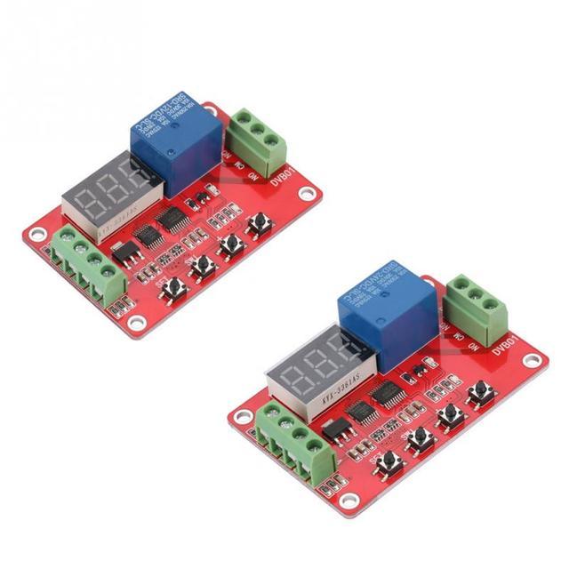 US $12 07 41% OFF|12V/24V Red DVB01 Digital Window Voltage Comparator /  Voltage Measurement Voltage Comparators-in Relays from Home Improvement on