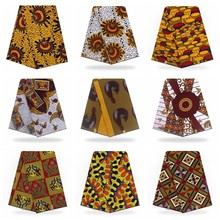 Настоящий воск высокое качество воск настоящий голландский Африканский вощеная ткань настоящая горячая Распродажа дизайн для женщин платье