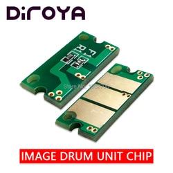 4 sztuk 25K IUP23 IUP 23 K C M Y jednostki obrazującej układu dla Konica Minolta Bizhub C3100 C3100P C3110 C3110P drukarki wkład drum reset Chipy tonera Komputer i biuro -