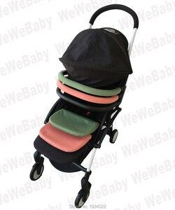 Image 2 - Yoyo passeggino accessori anteriore guard rail estendere bordo del piede per Yoya Del Bambino Tempo Del Bambino Trono passeggino paraurti bar piede bracciolo res