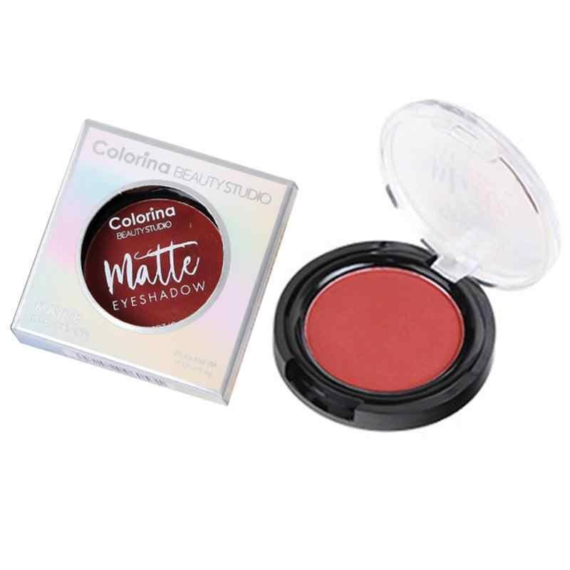 Mat Monochrome ombre à paupières sirène poudre gâteau Palette Net rouge maquillage imperméable et résistant à la sueur maquillage essentiel débutant