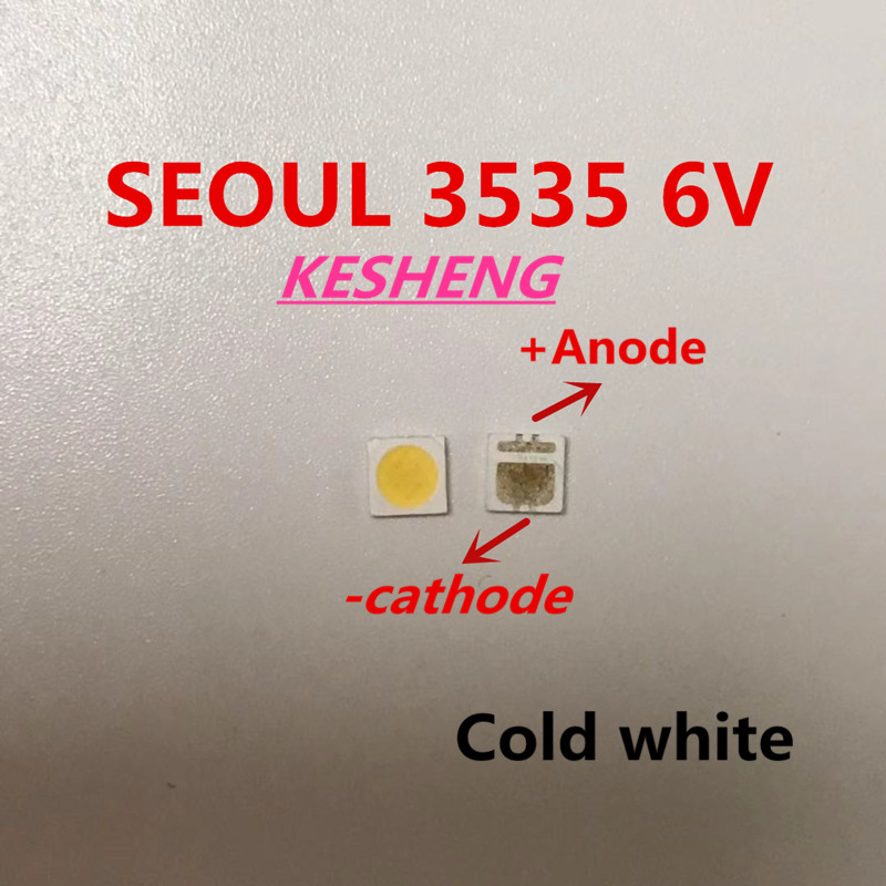 SEOUL LED Ad Alta Potenza Retroilluminazione A 3000PCS LED 2 w 3535 6 v bianco Freddo