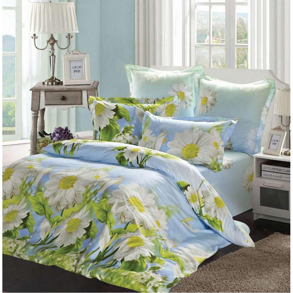 Bedding Set SAILID B-147 cover set linings duvet cover bed sheet pillowcases TmallTS cartoon tree duvet cover set