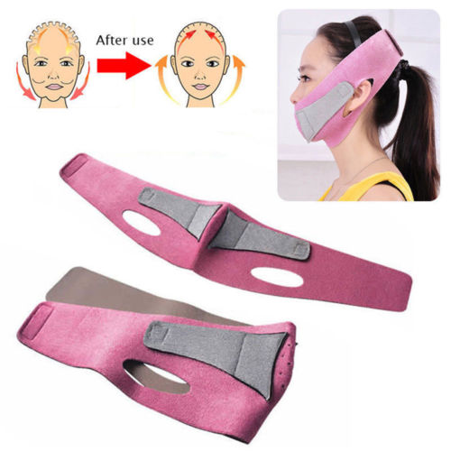 Reduce Double Chin Face Strap Face-lift Bandage Belt Shape Facial Slimming Mask Face-lift Mask For Femma