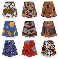 Real Dutch Wax Super Hollandais High Quality African Print Material Sewing Fabric Latest 6yards Hollandais Wax Patchwork Fabrics