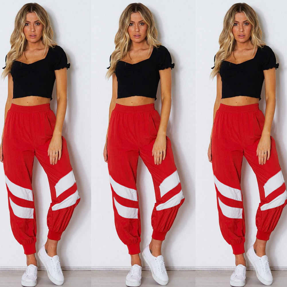 ab3d86898898a ... Hirigin Jogger Sweatpant Fall 2018 Newest Hot Womens Military Army  Combat Camouflage Pant LOT Camo Cargo ...