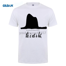 GILDAN 2017 Fashion Hot Sell T-Shirt Men Tee Shirts Little Prince - This is Not a Hat Novelty Gift Unisex Adult