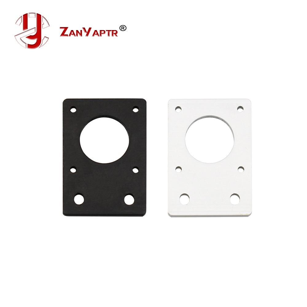 Aluminum Plate For 42 Stepper Motor Bracket Nema17 Thickness 4mm for 2020 2040 Aluminum ProfileAluminum Plate For 42 Stepper Motor Bracket Nema17 Thickness 4mm for 2020 2040 Aluminum Profile