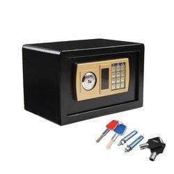 Caja de Seguridad Digital de 310x200x200mm para resistente al fuego, Caja de seguridad secreta Ideal, contraseña electrónica, Caja de seguridad para joyas, Caja de oro Fuerte
