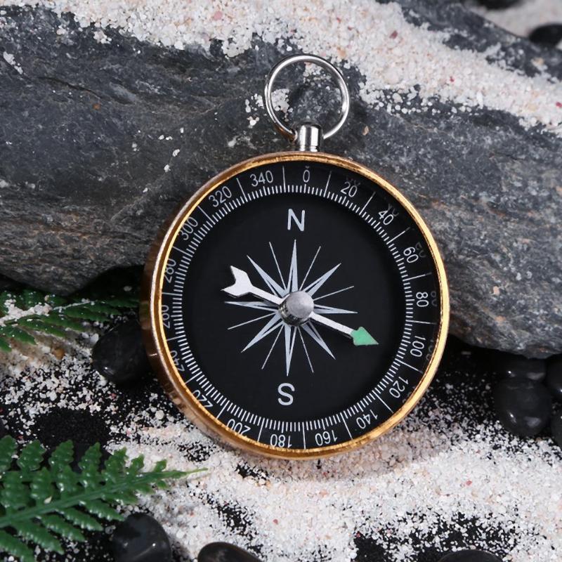 4cm Pocket Mini Hiking Camping Lightweight Aluminum Outdoor Emergency Compass Navigation Wild Outdoor Tool Mulit Compass Tool
