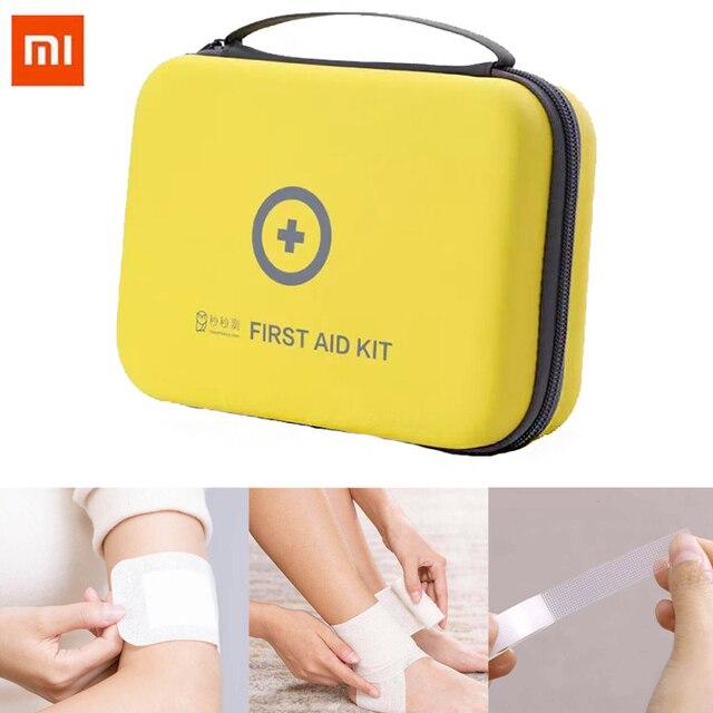 Xiaomi Desporto Ao Ar Livre Saco De Emergência Médica de Primeiros Socorros Medicina Pill Box Drogas Kit de Sobrevivência de Viagem de Carro Para Casa Emergir Caso Pequeno bolsa