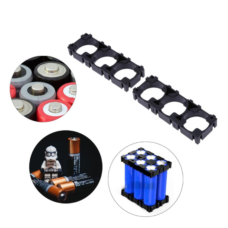 20pcs 3x 18650 Battery Safety Anti Vibration Holder Cylindrical Bracket Carefully Selected Materials