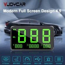 Автомобильный gps измеритель скорости, большие шрифты, светодиодный дисплей, км/ч MPH, сигнализация скорости, высота, цифровой, общее время вождения, новая Автомобильная электроника, распродажа