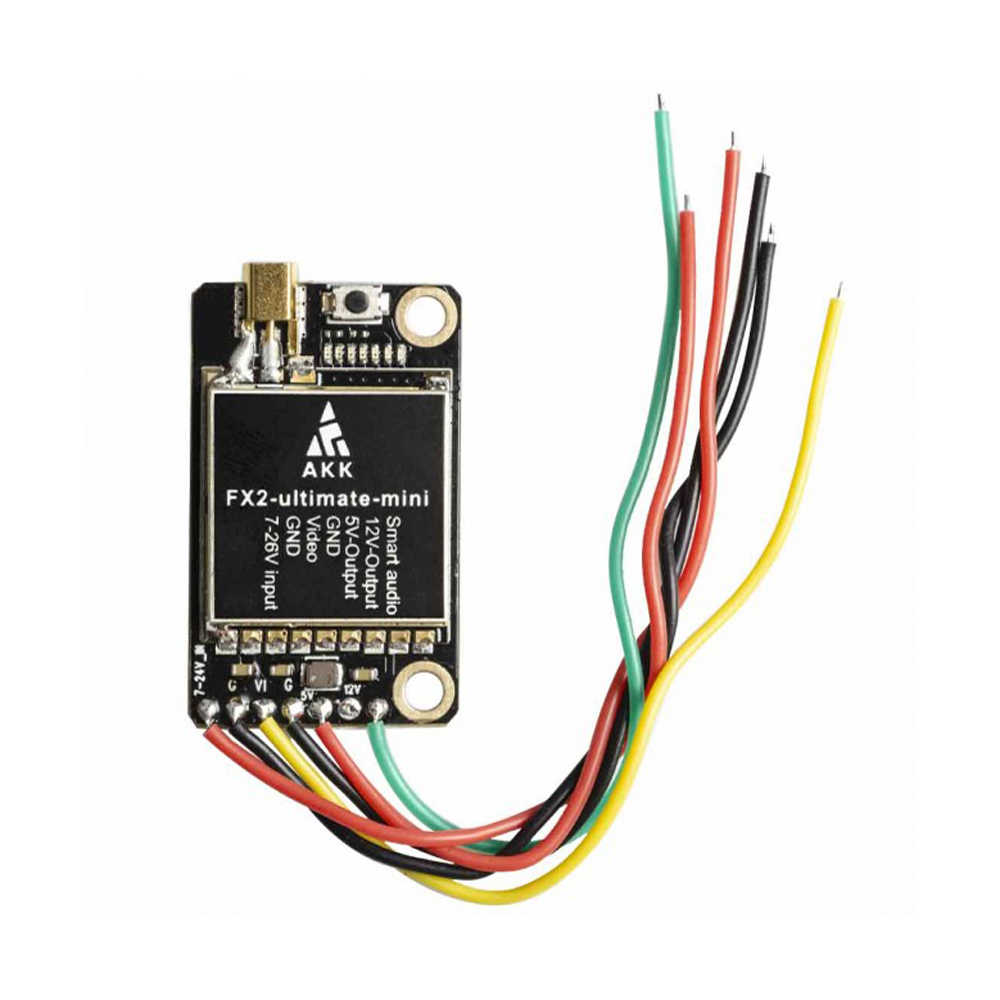 AKK FX2 Mini International 5.8GHz 40CH 25mW/200mW/600mW/1000mW Switchable FPV Transmitter for Drone Quadcopter Parts