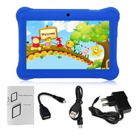 Q88 Children Tablet 7 Inch Touch Screen 512MB+8GB Kids Pad Students Learning Tablet With Hi Fi Stereo Speaker AU Plug