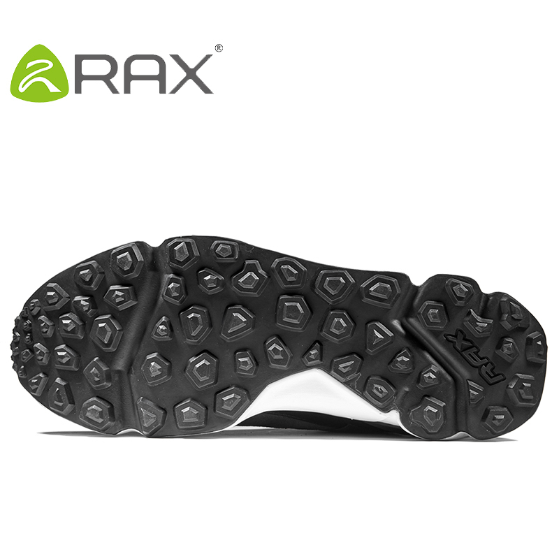 RAX 2017 New Men's Suede Leather Waterproof Cushioning Hiking Shoes Breathable Outdoor Trekking Backpacking Travel Shoes For Men 4