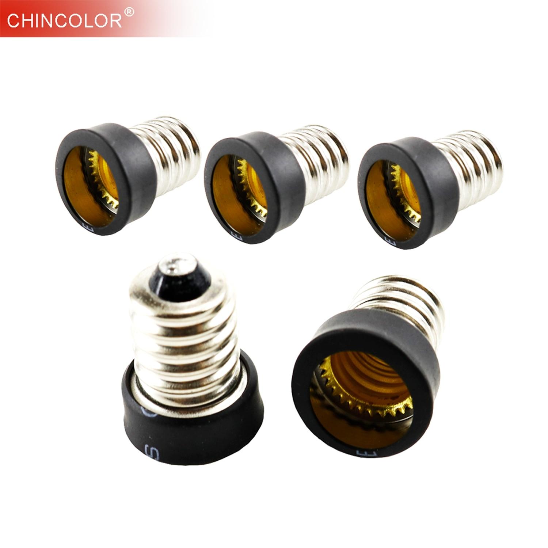 E14 To E12 Light Base Bulb Lamp Holder Adapter Socket Converter  Lamp Converter Accessories  Candelabra Easy Instal Long Life JQ