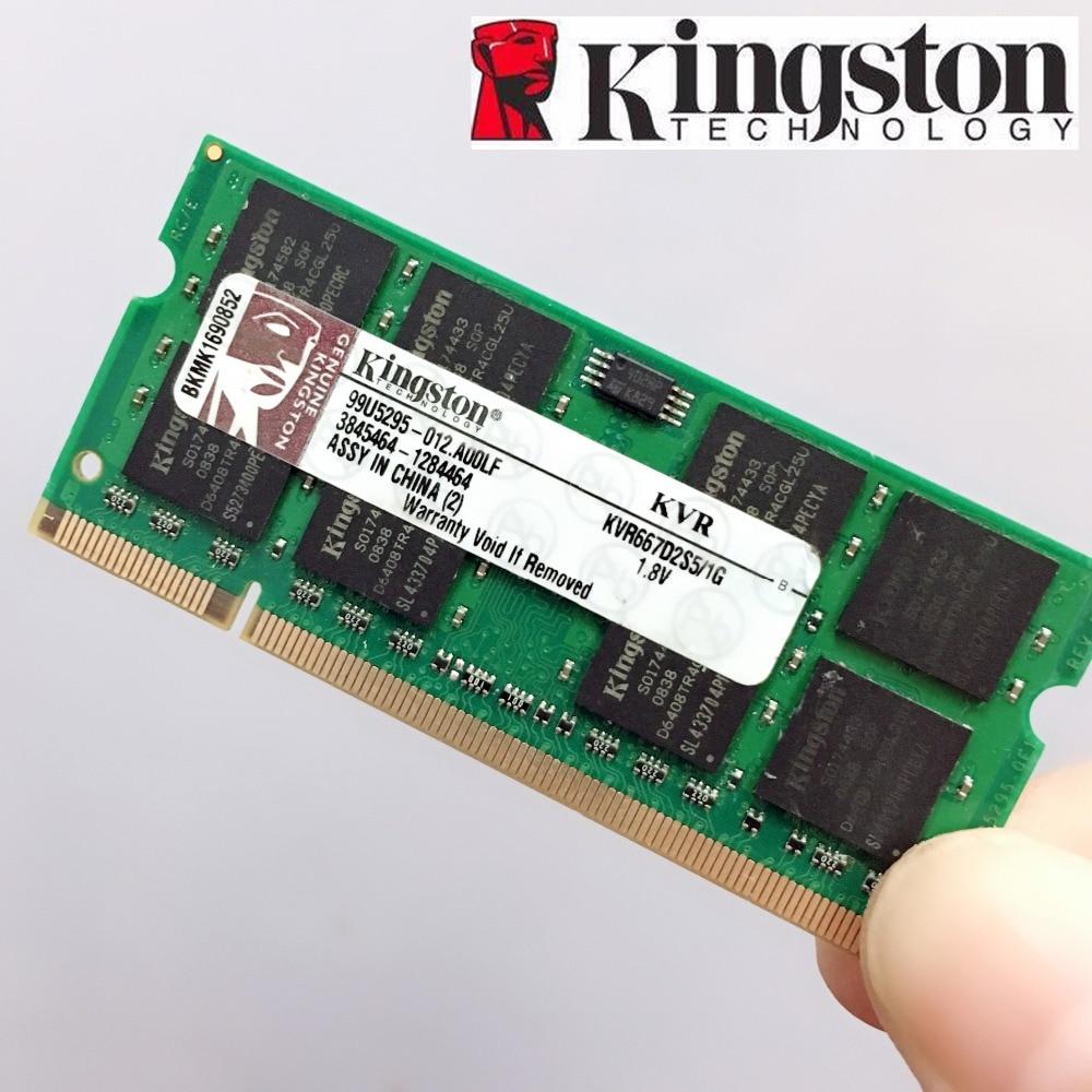 Kingston Laptop Notebook 1GB 2GB  1G 2G  PC2 DDR2 5300S 6400S 667 800 667MHZ 800MHZ  ECC  Laptop Notebook  Memory RAM