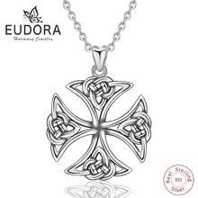 Eudora 100% Стерлинговое Серебро 925 пробы кельтический узел