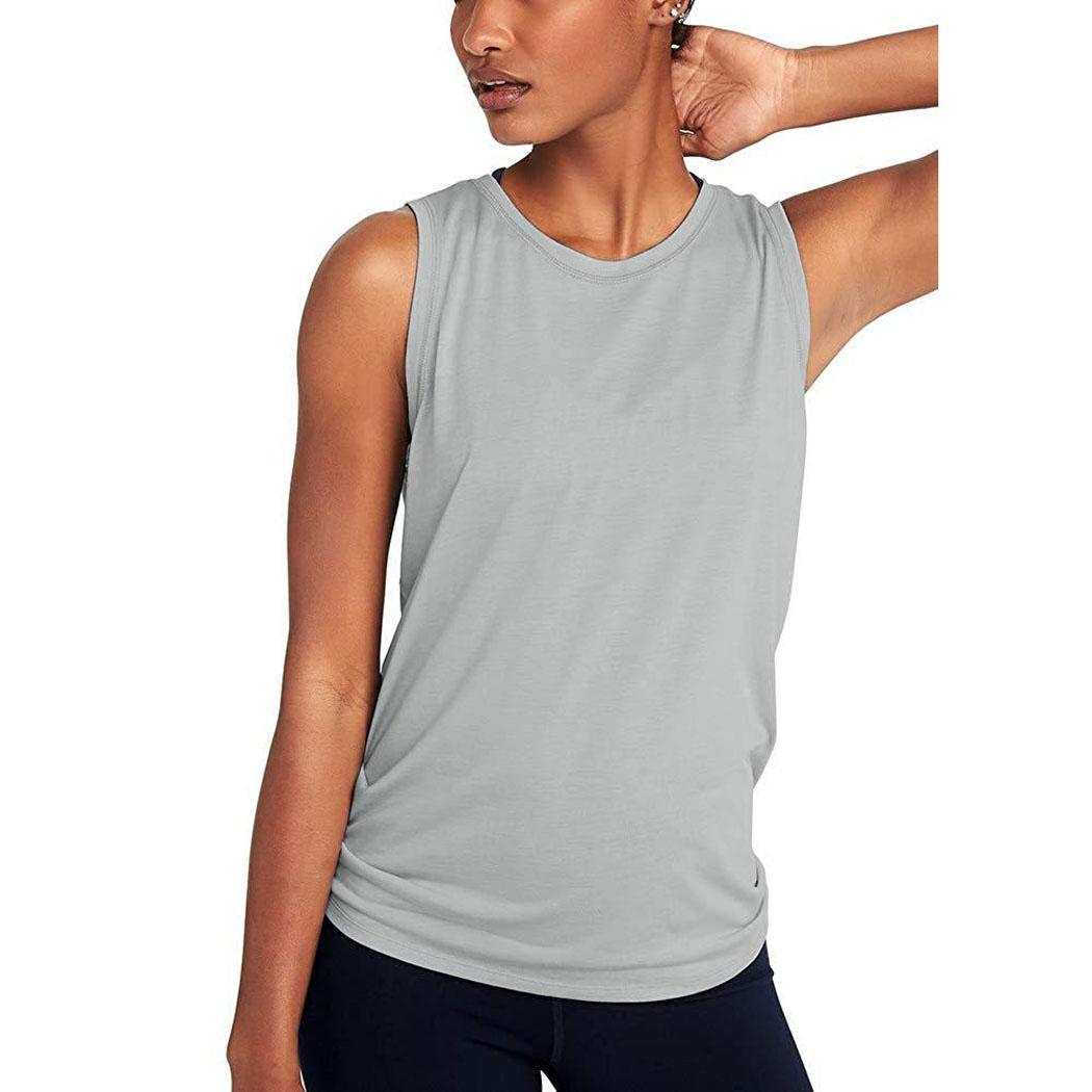 Women's Workout yoga top Sports Wear For Women Gym T-shirt Spring and summer sports fitness vest Yoga Top Sport Blouses